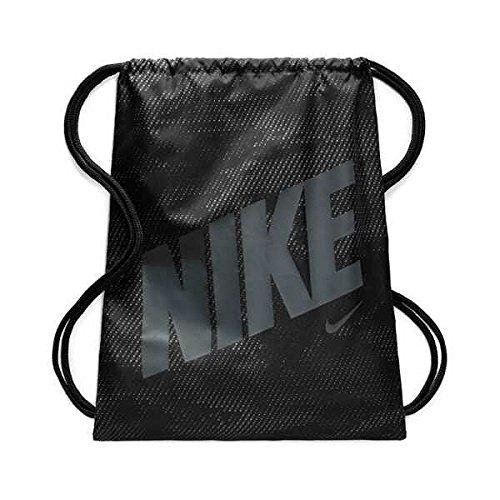 Nike Ba5262-022 Turnbeutel, Schwarz (Nero/Cool Grigio)