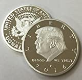 President Donald Trump 2016 Silver Eagle...
