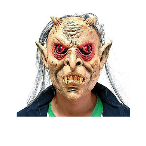 Blutige Face Off Horror Halloween Kostüm Maske (X Men Fancy Dress Outfits)