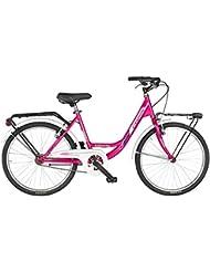 "Fausto Coppi - Bicicleta 24"" Atlanta Holanda Acero 1 Velocidad"