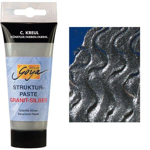 Solo Goya Struktur-Paste Granit-Silber, 100 ml [Spielzeug]