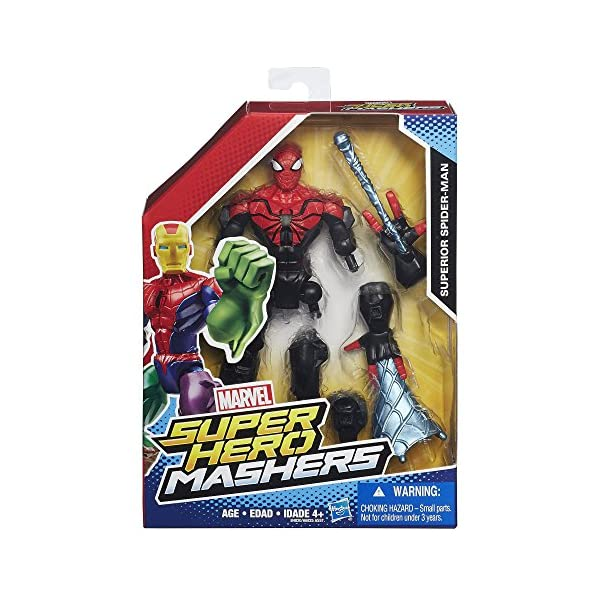 Marvel Super Hero Mashers Superior Spider-Man Figure by 2