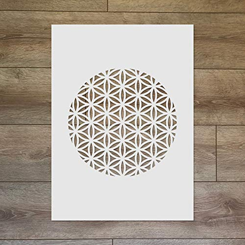 The Flower of Life - Plantilla de geometría sagrada