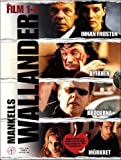 Locandina Wallander (Films 1-4) - 4-DVD Box Set ( Innan frosten / Byfånen / Bröderna / Mörkret ) ( Before The Frost / The Village Idiot / Brothers / T [ Origine Svedese, Nessuna Lingua Italiana ]
