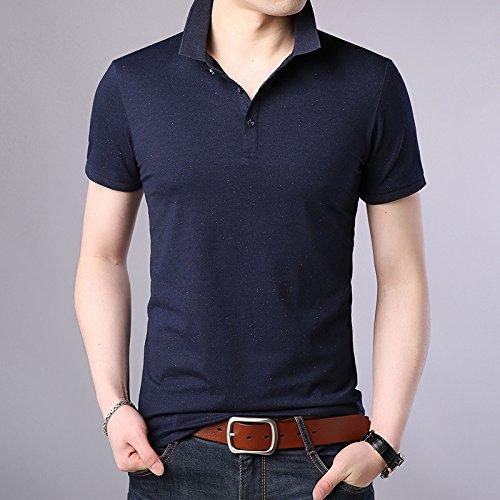XiaoGao sommer männer revers polo pulli einfach und komfortabel und kurzärmeliges,borland