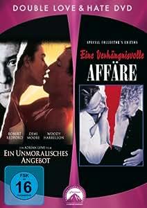 Eine verhängnisvolle Affäre / Ein unmoralisches Angebot [2 DVDs]