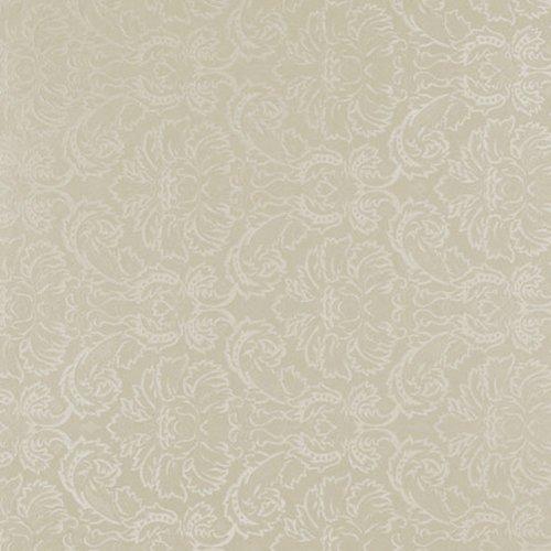 Wachstuch Breite & Länge wählbar – Blumen Relief Creme UNI Geprägtr – Größe ECKIG 130 x 230 bzw. 230×130 cm abwaschbare Tischdecke - 2