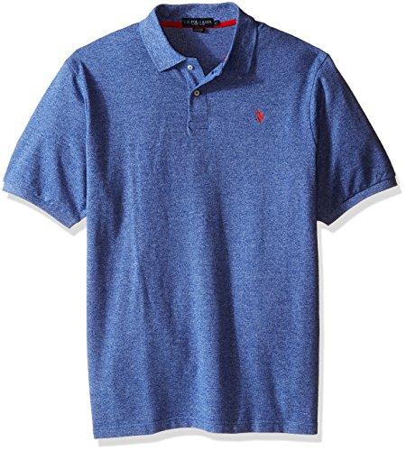 Tall Mens Tie (U.S. Polo Assn.. Men's Big-Tall Twisted Yarn Polo Shirt, Blue Tie, 2X)