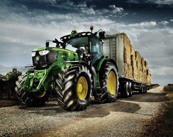 John Deere Tractor 10x8 Poster Print