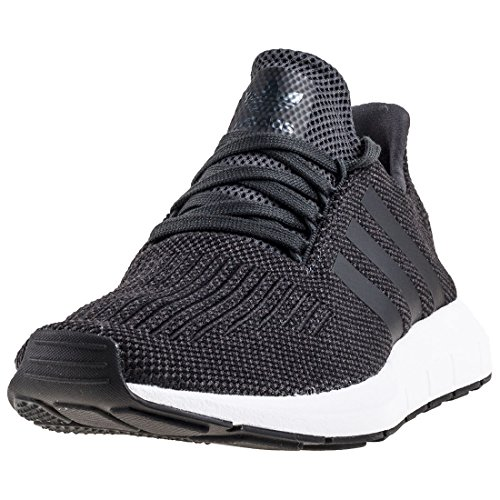 adidas Swift Run, Scarpe da Ginnastica Basse Uomo Grigio (Carbon/core Black/medium Grey Heather 0)