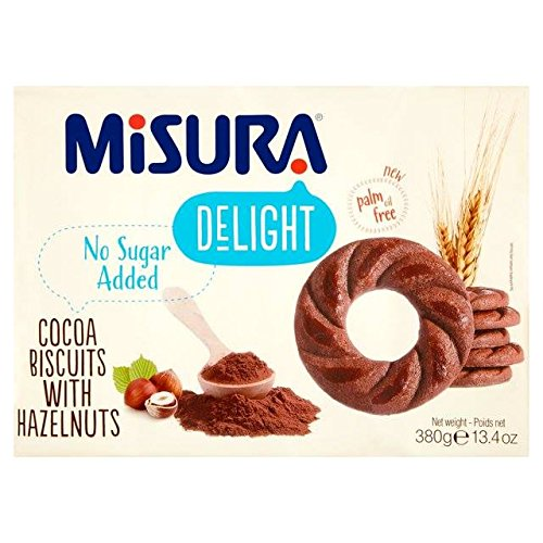 Misura Delight Cocoa Biscuits with Hazelnut 380g