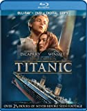 Titanic (1997) [Blu-ray]+[DVD]+[DIGITAL COPY]
