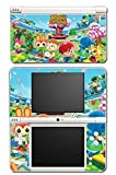 Animal Crossing Special Edition New Leaf City Folk Wild World Villager Video Game Vinyl Decal Skin Sticker Cover for Nintendo DSi XL System by Vinyl Skin Designs