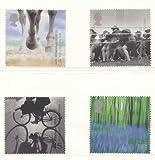 2000Millennium Projekte (7. Serie) Stein und Erde Briefmarken. Set von 4, unmontiert mint.