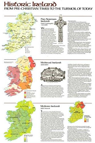 Reproduktion eines Poster Präsentation-Irland-Historic Pre Christian der modernen Tag (1981)-61x 81,3cm Poster Prints Online kaufen