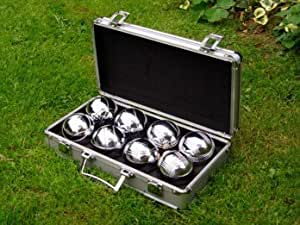 8 Boules in Metal Box