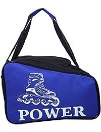 Trendway Unisex Inline Skate/Ice Skates Kit Sports Bag Helmet Storage Bag Travel Duffle Bag For Kids/Children/...