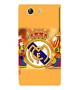 printtech FC Football Team Back Case Cover for Sony Xperia Z4 Mini::Sony Xperia Z4 Compact