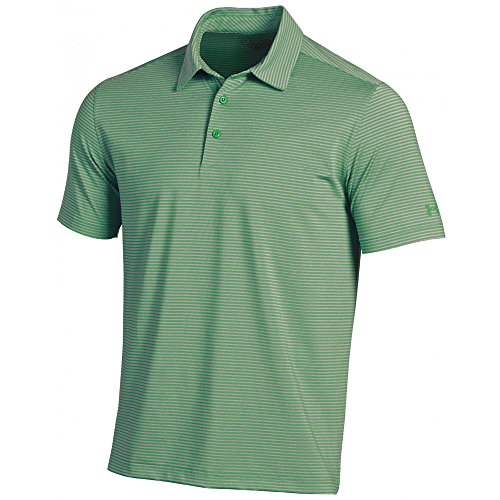 Under Armour New Kirkby Heather Polo Shirt Kelly Green Size Small -
