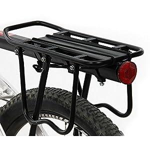 51A2GZ%2BWXLL. SS300 ThreeH Portapacchi Bici in Alluminio Ciclismo Reggisella Rack Mountain Bike con Riflettore BK43