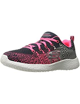Skechers - Burst Ellipse, Sneaker Bambina, Charcoal Pink, 30 EU Bambino