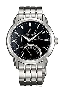 Orient Black Dial Analogue Watch for Men (SDE00002B0)
