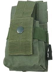 BE-X Modulare Funkgeräte / GPS Tasche mit verstellbarer Sicherung - olive