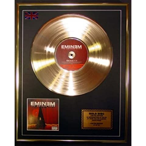 EMINEM/Cd Disco de Oro Disco Edicion Limitada/THE EMINEM SHOW