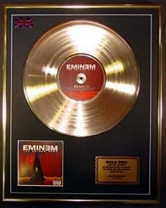EMINEM/Goldene Schallplatte Record Limitierte Edition/THE
