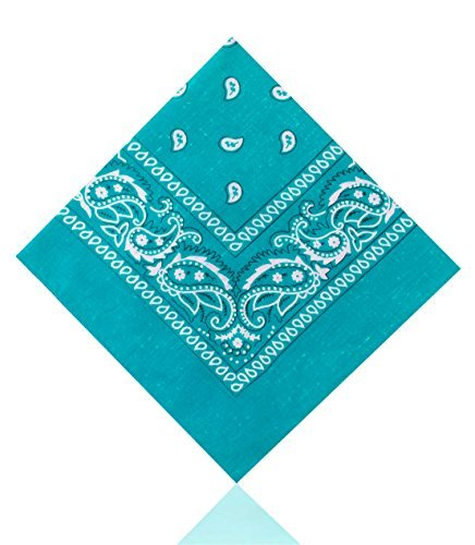 cachemire-bandanas-by-lizzy-femmes-turquoise-taille-unique