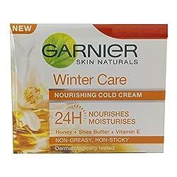 Garnier Skin Naturals Winter Care Nourishing Cold Cream, 18gm (Pack of 2)