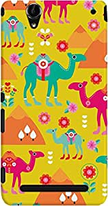 DailyObjects Coloful Camel Case For Sony Xperia T2 Ultra