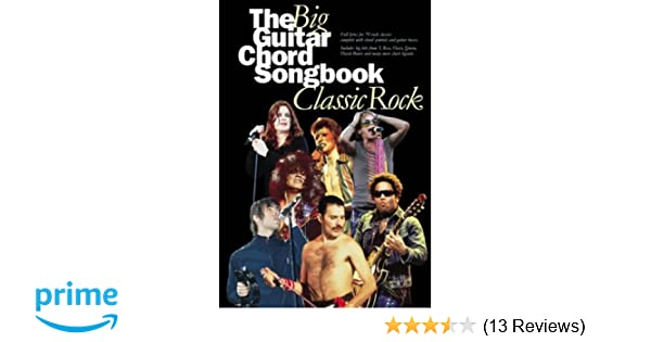 The Big Guitar Chord Songbook: Classic Rock: Amazon.co.uk: Divers ...