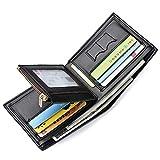 Geldbörse Herren Sailinna Kreditkarten-Etui Bifold Brieftasche mit Münztasche