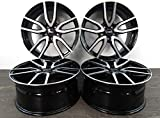 4 cerchioni in alluminio RIAL TORINO da 16 pollici, per Peugeot 4007 V 4008 B 6.5J ET40 5x114,3 Torino