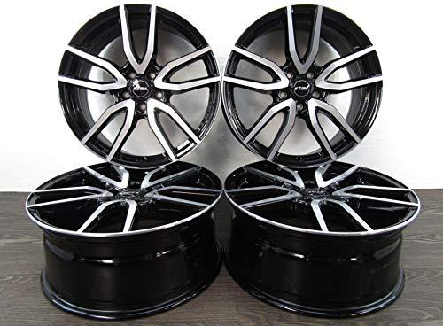 4 cerchioni in alluminio RIAL TORINO da 17 pollici, adatti per BMW Serie 2 Active Gran Tourer F45 F46 X1 F48 X2 F39 Torino