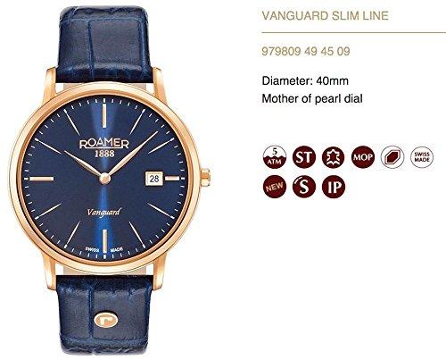 Roamer 979809 49 45 09 Montre à bracelet pour homme