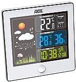 ADE Wetterstation WS 1402 mit Funk-Außensensor (weiß)