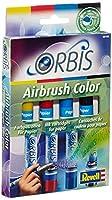 Revell 30100 - Orbis - Set de rechargeUn set de recharge de 4 cartouches de couleurs aérographe pour papier. Développe la créativité de l'enfant.Contenu : 4 cartouches couleur Jaune, rouge, bleu marine, noir
