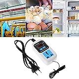 Tajie Digital Thermostat -50~110C Temperaturregler Schalter AC110-220V Mit Sensor