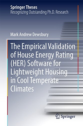 : The Empirical Validation of House Energy Rating Her Software for Lightweight Housing in Cool Temperate Climates