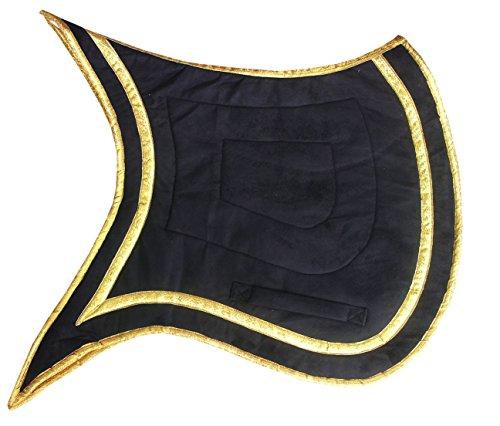 AMKA Schabracke Barock Spanisch Schwalbenschwanz + Goldener Einfassung 005/101