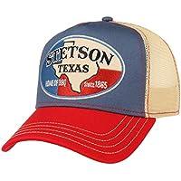 Stetson Cappellino Trucker Texas Home of BBQ Donna Uomo  01e0d1e7a927
