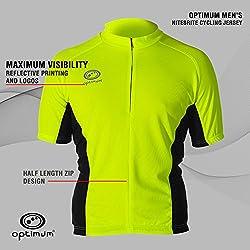 Optimum - Camiseta de manga corta para hombre verde verde Talla:xx-large