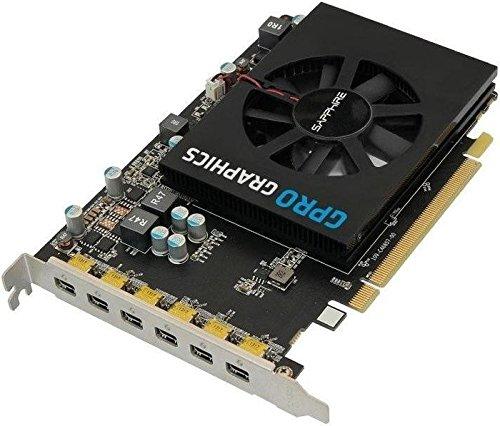 Sapphire 32258-00-21G Grafikkarte, 4GB schwarz