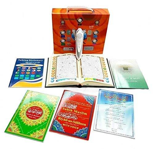 Koran Lesestift koran deutsche Übersetzung Buch mit Lesestift Digitaler Koran-Lesestift 8 GB Ideal für Anfänger Deutsch Englisch Französisch Türkisch Farsi Spanisch