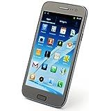 Tengda F7100 - 5,0 pouces écran capacitif Smartphone Android 4.1 MTK6575 1GHz dual SIM 3G GPS 3.0MP caméra WIFI Gris