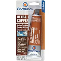 Permatex 3 Oz Ultra Hacedor 81878 Copper RTV Silicone Gasket