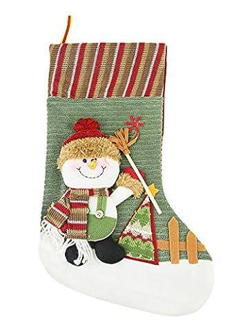 Liying Weihnachtsdeko Socken Süßigkeit Weihnachtsstrumpf Weihnachtstüten Weihnachtsbaumschmuck Nikolausstrumpf Geschenkbeutel Weihnachtsbaum Anhänger Geschenke für (Süßigkeiten, Christbaumschmuck)