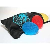 LionsGuard Premium Fingertrainer mit Beutel und Anleitung zur Kräftigung von Hand und Finger - 3 Verschiedene Widerstandsstufen - Handmuskeltrainer - Unterarmtrainer